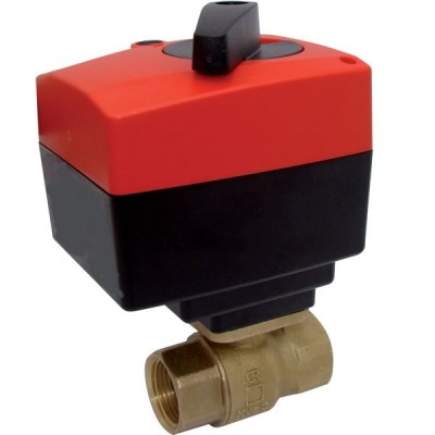 598 + 031 - Control Ball Valve with Electric Actuator