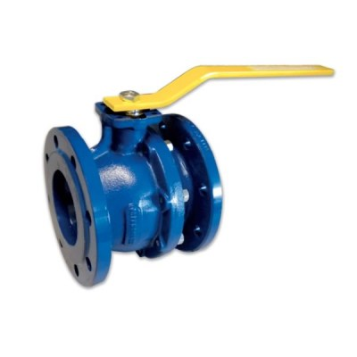 542G - 542W - Spheroidal Cast iron Flanged Ball Valve GGG 40