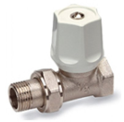 150 V - Radiator Valve, Straight Pattern, Flow