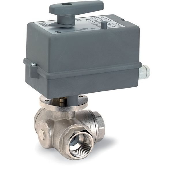 543 - Three - Way Ball Valve: 543+030 - Three – Way Ball Valve with
